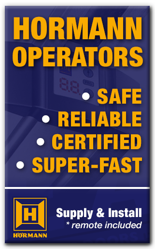 hornan garage door operators