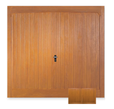 Medium Rib Horizontal Garage Door with Cascade Windows