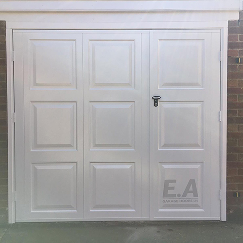 Fortdoors double up and over retractable