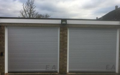 A unique colour choice of our garage doors