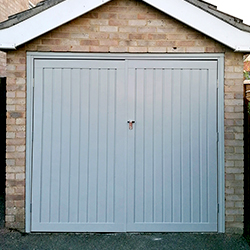 Steel Garage Doors with Windows