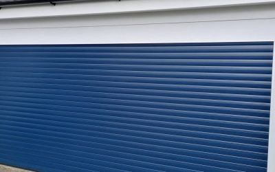 New Roller Garage Door
