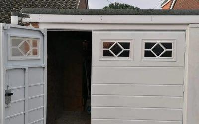 Side hinged garage doors…
