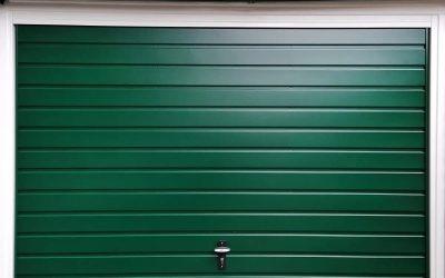 Steel Up and over Horizontal style garage door…